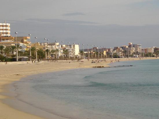 Hotel Helios Mallorca : La plage