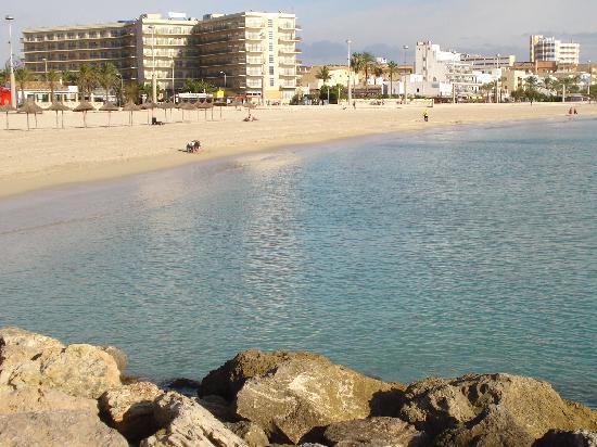 Hotel Helios Mallorca: La plage