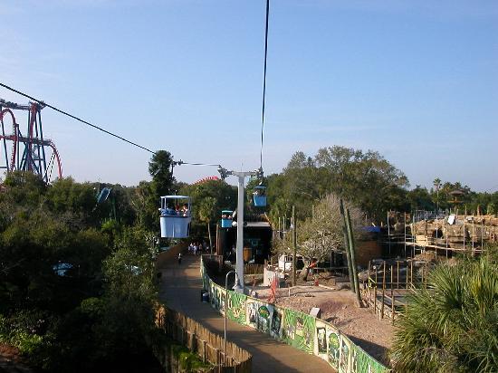 Busch Gardens: Skyride
