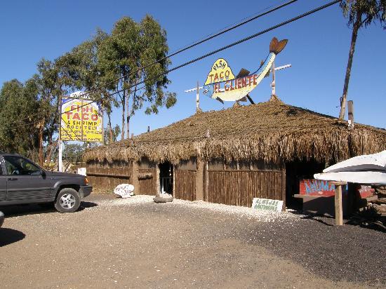 Hotel Mision Santa Maria: El Cliente Fish Taco Palapa