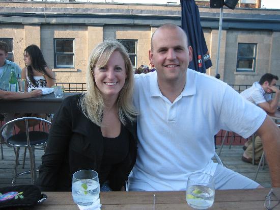 Hotel Nelligan : Hotel rooftop bar