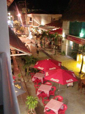 Hotel Plaza Almendros: from the balcony at Plaza A