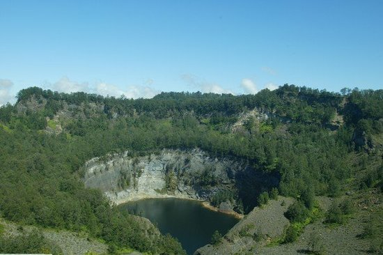Mount Kelimutu: The Black Lake
