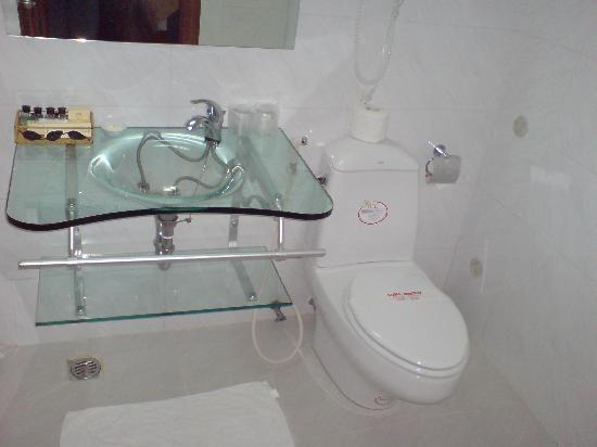 Le Duy Hotel: bathroom