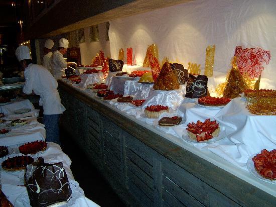 Club Med Val d'Isere : Buffet dessert
