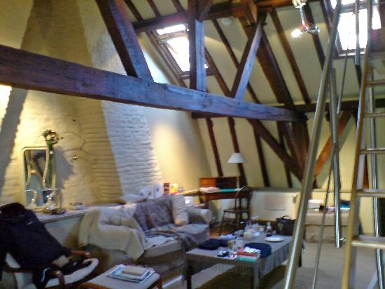 Huyze Hertsberge: The bedroom - Suite La Charpente