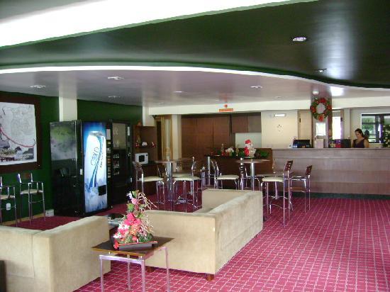 Uniao da Vitoria: Hotel 10 lobby