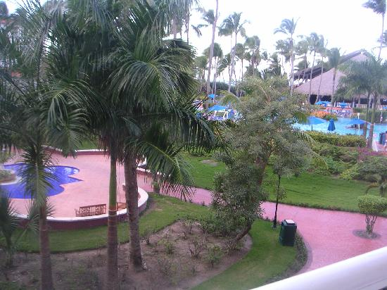 Occidental Caribe: view from our room