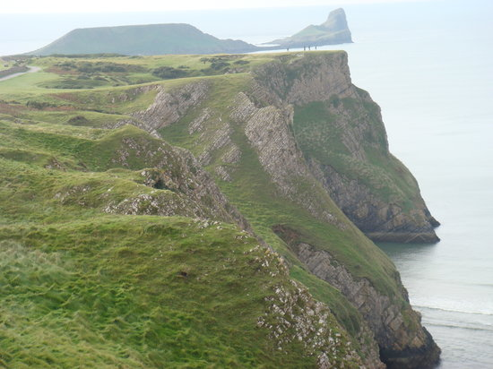 Reynoldston, UK: Worms Head near the hotel