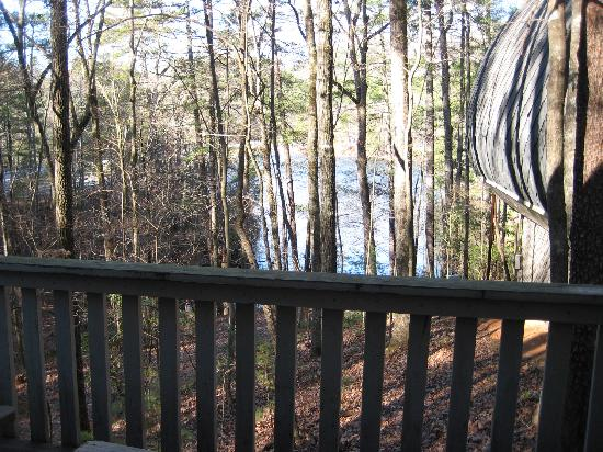 Unicoi State Park & Lodge: View from deck