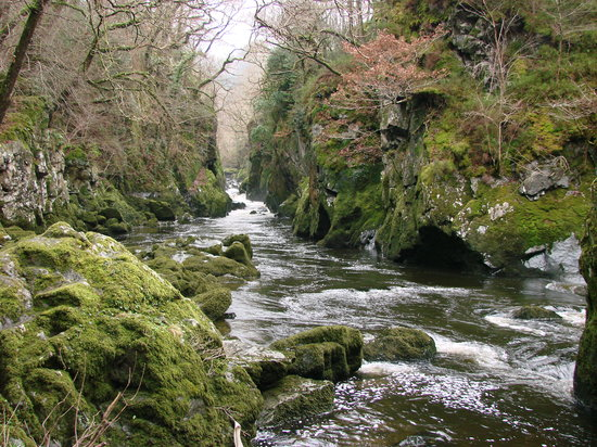 Betws-y-Coed, UK: Fairy Glen