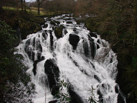 Betws-y-Coed, UK: Swallow Falls