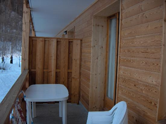 Residence le Palatin : Terrase