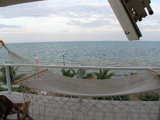 Balcony with hammock picture of laru beya resort for Balcony hammock