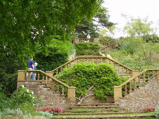 Banbury, UK: Garden Stairs