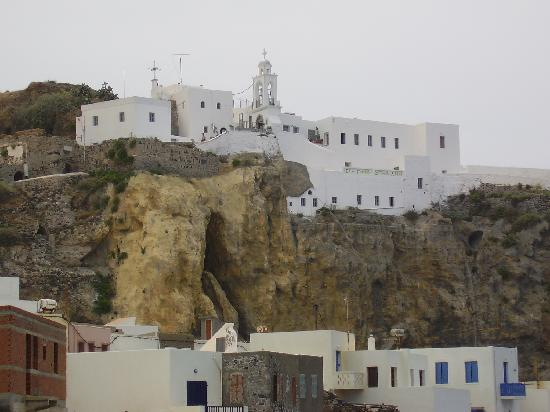 Dodecanese, Grecia: Monastery of the Virgin Mary