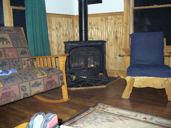 Partridge Cabins : Our Stove