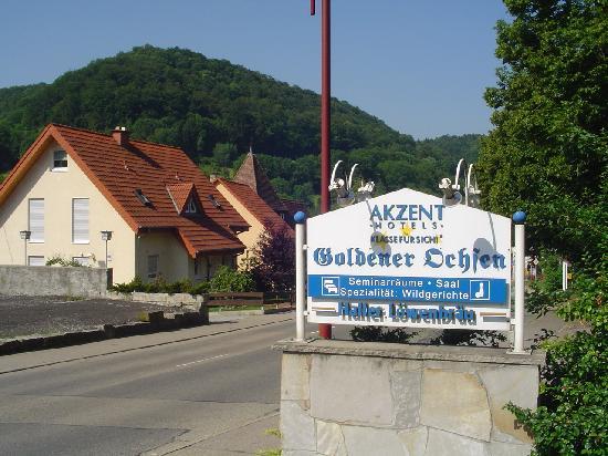 Akzent Hotel Goldener Ochsen: Frente al hotel