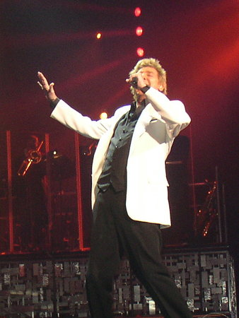 Barry Manilow at the Paris Las Vegas