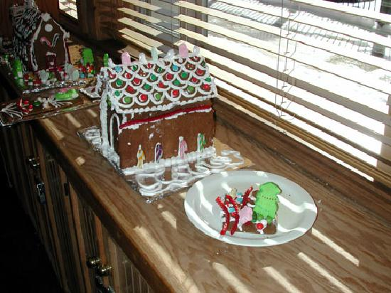 One Of The Evening Family Activities Gingerbread Houses