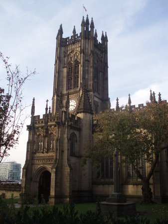 Манчестер, UK: Cathedral