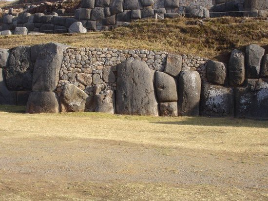 Cusco, Peru: The walls of the Puma