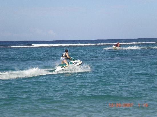 Sandals Ochi Beach Resort: There I go!!