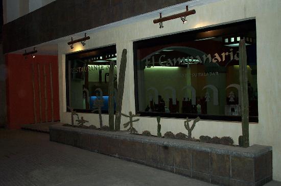 El Relicario De La Patria Hotel: frente de restaurante