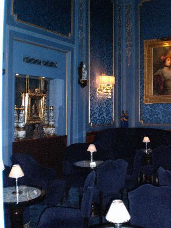 Hotel Sacher Wien : the Blue Room