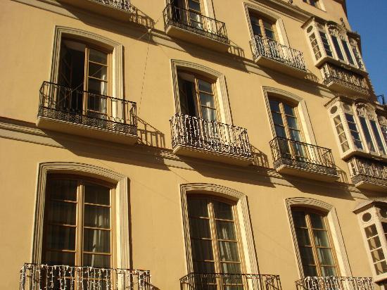 Hotel Molina Lario: L'ancien bâtiment avec les chambres deluxe