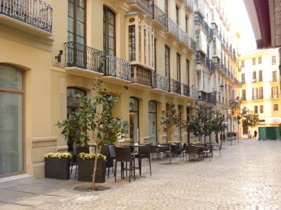 Hotel Molina Lario: Le bar-restaurant de l'hôtel