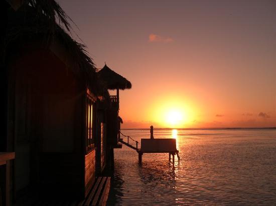 Gili Lankanfushi Maldives: sunrise...