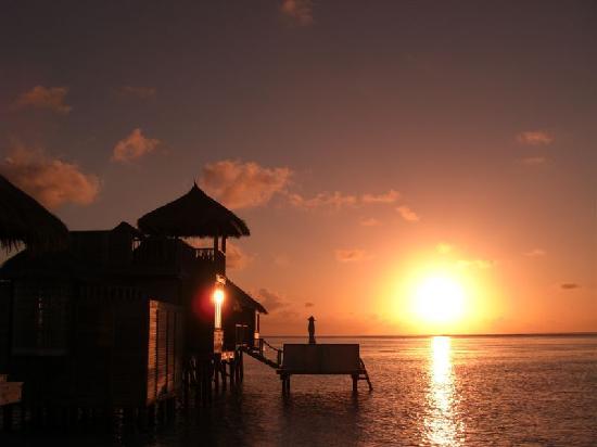 Gili Lankanfushi Maldives : sunrise