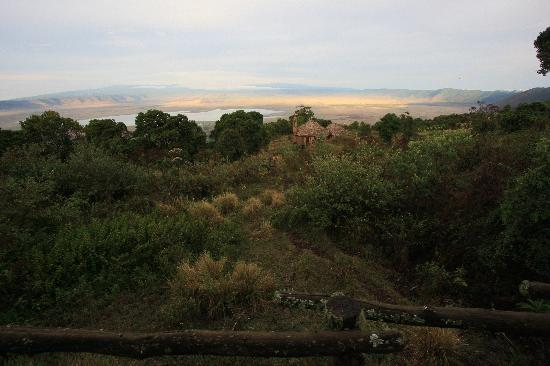 andBeyond Ngorongoro Crater Lodge: The Crater from our room
