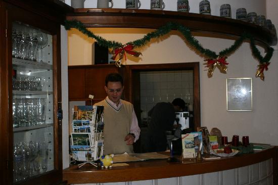 Hotel Laimer Hof: My friend Sebastian