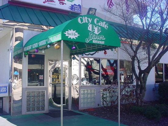 City Cafe Diner Front