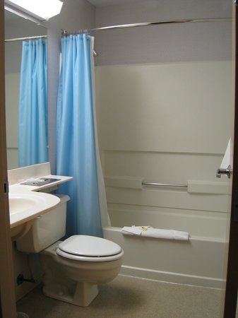 CenterWay Hotel: Microtel Inn Buffalo (Tonawanda) - bathroom