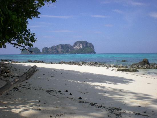 Foto de Phi Phi Natural Resort, Ko Phi Phi Don: mosquito island as seen from ...