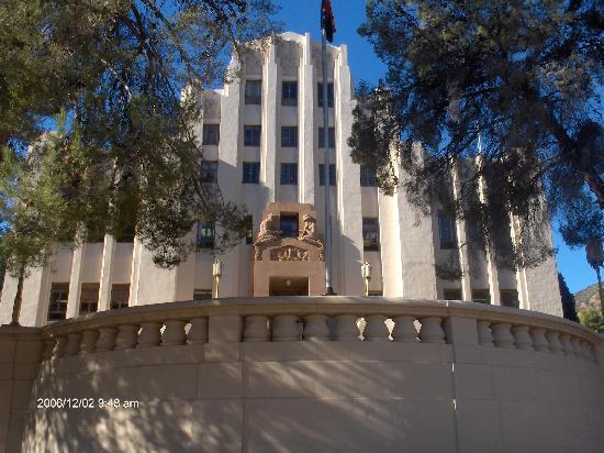 Hotel San Ramon: Court House/ town hall of Bisbee, AZ