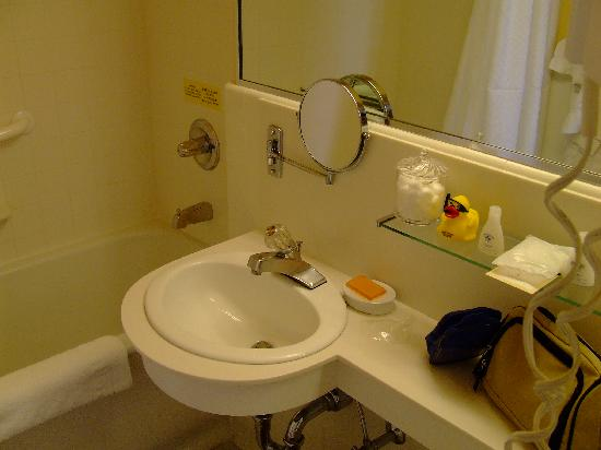Bathroom, with rubber duckie - Picture of Chancellor Hotel on Union ...