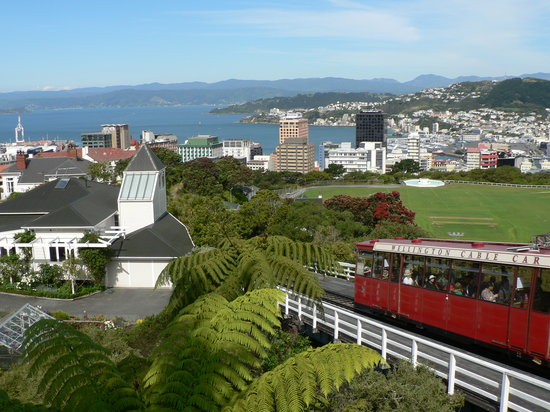 Wellington, Nouvelle-Zélande : The Cable Car