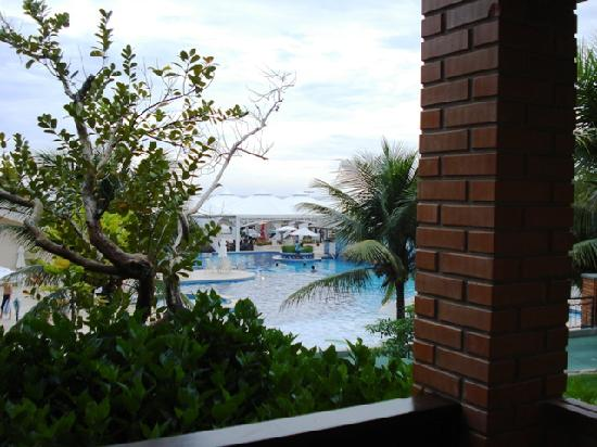 Infinity Blue Resort & Spa: Pool from the room