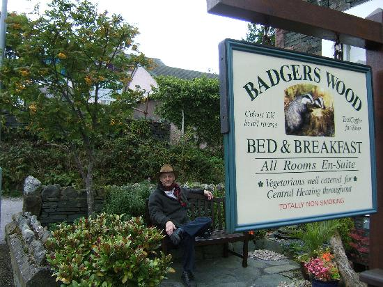 Badgers Wood Guest House: Relaxing at Badgers Wood