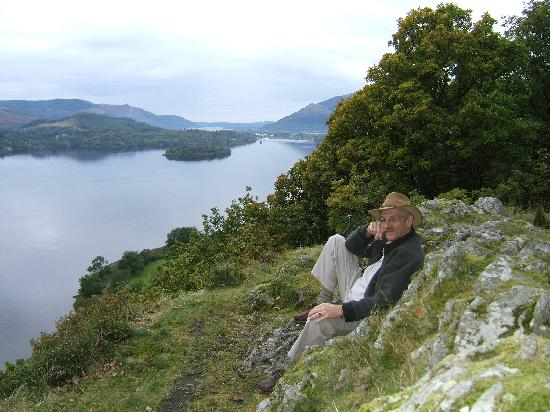 Badgers Wood Guest House: Derwentwater from Ashness