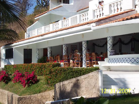 Villas Coral: Hotel restaurant