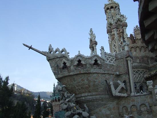 قلعة كولوماريس الاثرية الاسبانية catillo-de-colomares