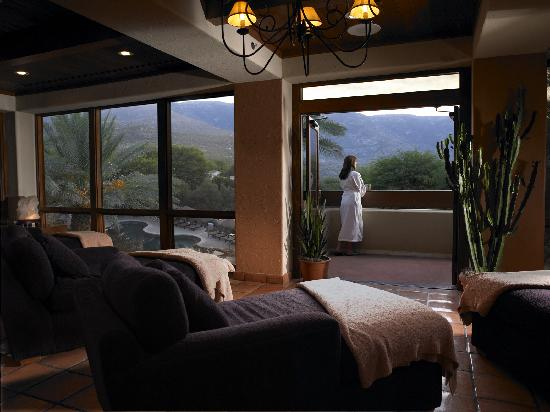 Miraval Arizona Resort & Spa: The quiet room in the spa at Miraval