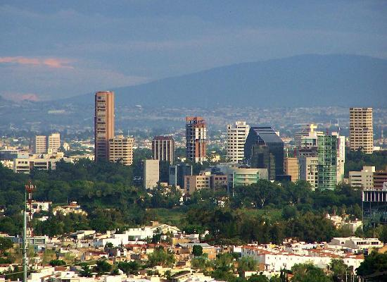 Guadalajara, Mexico: Providencia-Country skyline view.