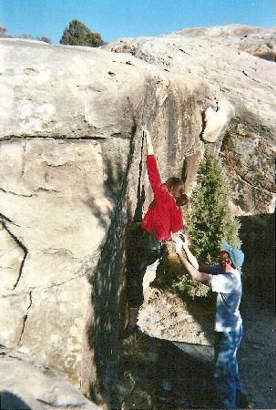 Bouldern in der Nähe von Elmo