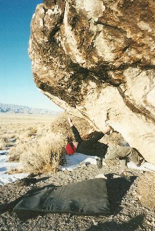 Delta, UT: Bouldern in Ibex